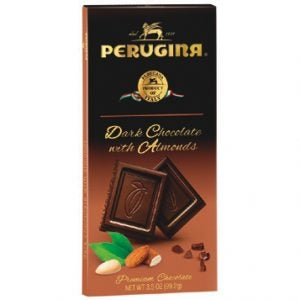 Perugina Dark Chocolate Bar w/Almonds