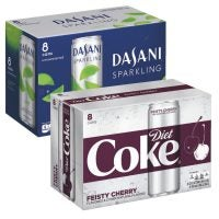 Dasani Sparkling Water or Diet Coke Slim Cans