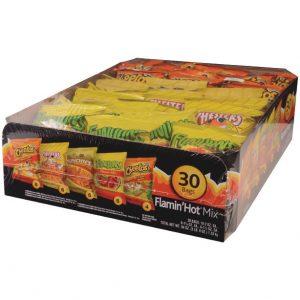 Frito Lay Flamin' Hot Snack Mix Variety Pack