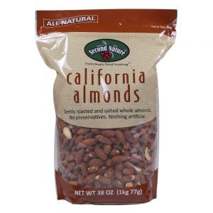 Second Nature Roasted Salted Almonds