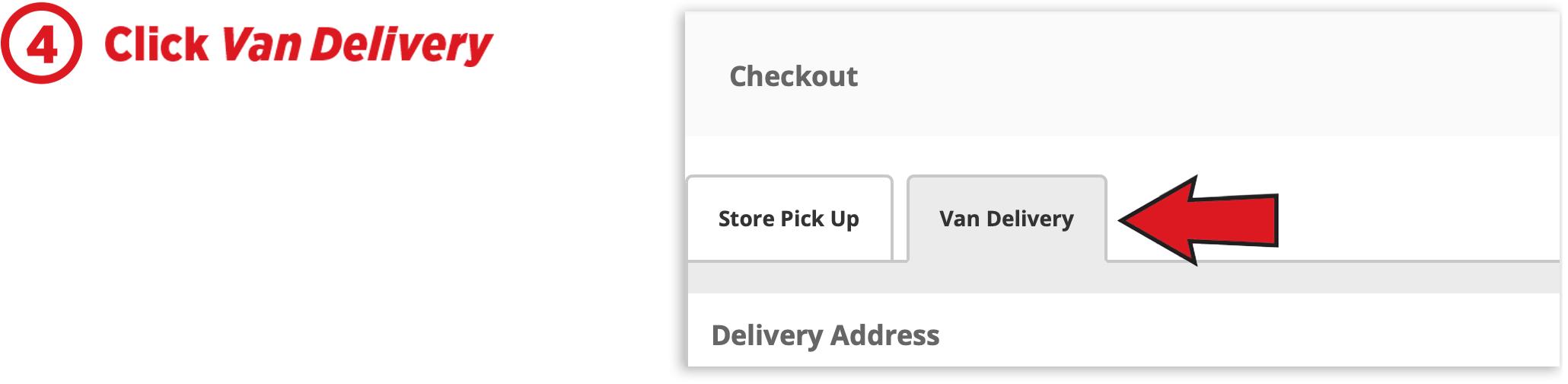 Click Van Delivery